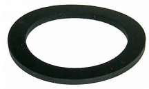 Rubber seal for brass radiator cap